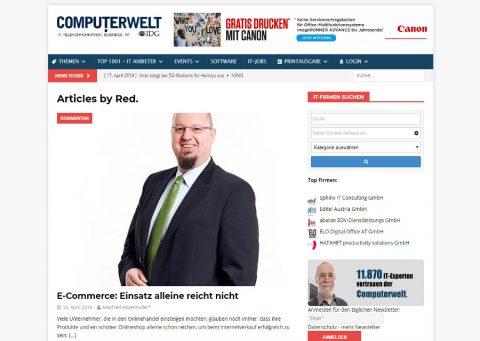 MA | CONSULTING Computerwelt Ecommerce Management